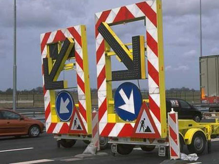 wegafzetting - verkeersborden huren